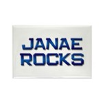 janae rocks Rectangle Magnet (10 pack)