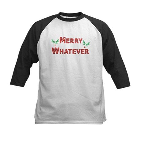 Merry Whatever Kids Baseball Jersey