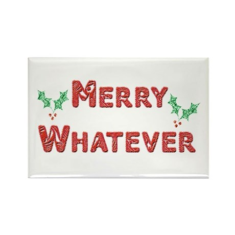 Merry Whatever Rectangle Magnet (100 pack)