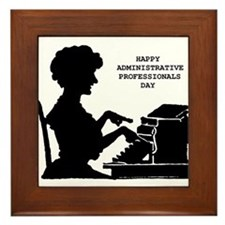 Cute Administrative assistant day Framed Tile