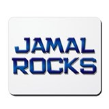 jamal rocks Mousepad