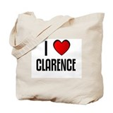 I LOVE CLARENCE Tote Bag