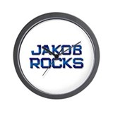 jakob rocks Wall Clock