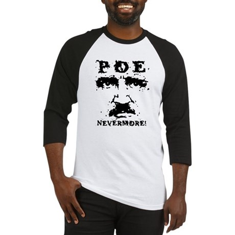 Poe Nevermore Baseball Jersey