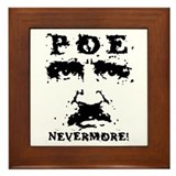 Poe Nevermore Framed Tile