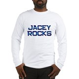 jacey rocks Long Sleeve T-Shirt
