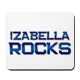 izabella rocks Mousepad