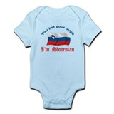 Slovenian Dupa 2 Infant Bodysuit