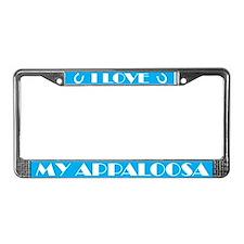 Appaloosa Horse License Plate Frame