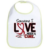 Needs A Cure 2 HIV AIDS Bib