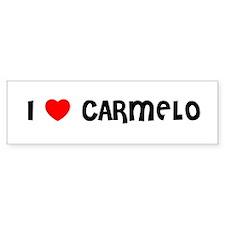 I LOVE CARMELO Bumper Bumper Sticker
