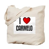 I LOVE CARMELO Tote Bag