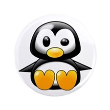 "Baby Penguin 3.5"" Button (100 pack)"
