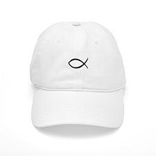 Christian Jesus Fish Baseball Cap