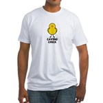 Caving Chick Fitted T-Shirt