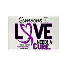 Needs A Cure 2 CROHNS Rectangle Magnet