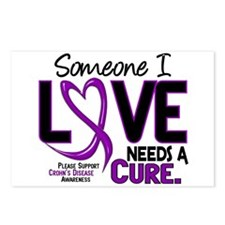 Needs A Cure 2 CROHNS Postcards (Package of 8)