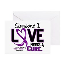 Needs A Cure 2 CROHNS Greeting Cards (Pk of 20)