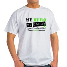 Lymphoma Hero Daddy T-Shirt