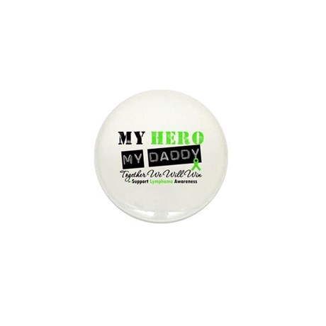 Lymphoma Hero Daddy Mini Button (100 pack)