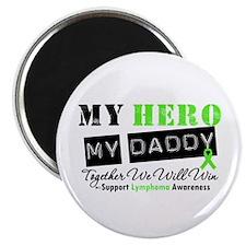 Lymphoma Hero Daddy Magnet