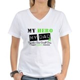 Lymphoma Hero Dad Shirt