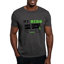 Lymphoma Hero Dad T-Shirt