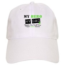 Lymphoma Hero Dad Baseball Cap