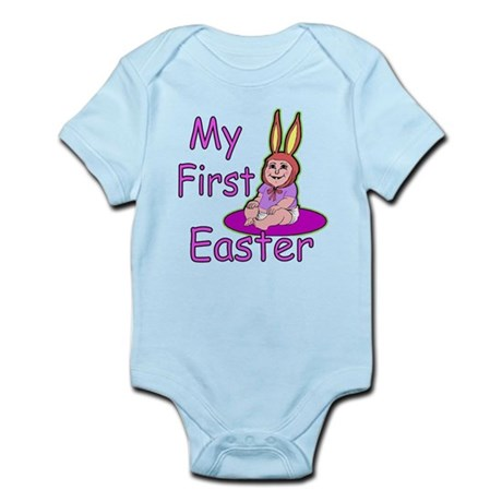 Bunny Baby First Easter Infant Bodysuit