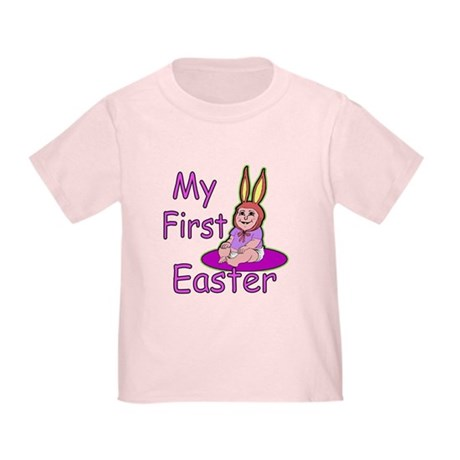 Bunny Baby First Easter Toddler T-Shirt