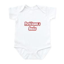 """""""Parkinson's Sucks"""" Infant Bodysuit"""