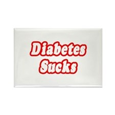 """Diabetes Sucks"" Rectangle Magnet (10 pack)"