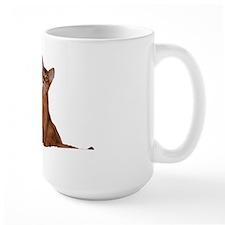 Funny abyssinian kittens Mug