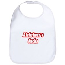 """Alzheimer's Sucks"" Bib"