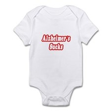 """Alzheimer's Sucks"" Infant Bodysuit"