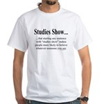 Studies White T-Shirt