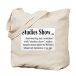 Studies Tote Bag