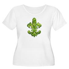 Irish Gem Fleur de lis T-Shirt