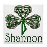Shannon Shamrock Tile Coaster