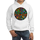 Celtic Stained Glass Spiral Hoodie