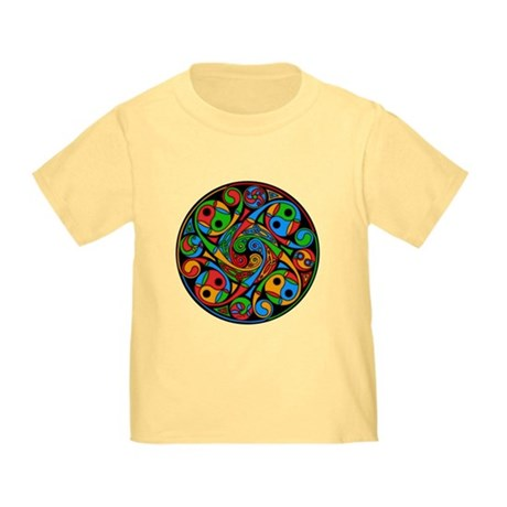Celtic Stained Glass Spiral Toddler T-Shirt