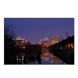 Early morning Richmond VA Postcards (Package of 8)