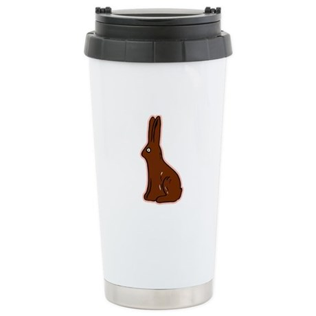 Chocolate Easter Bunny Ceramic Travel Mug
