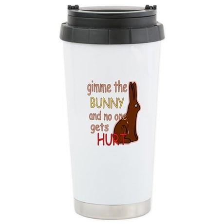 Funny Easter Ceramic Travel Mug