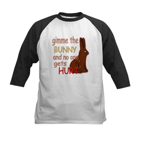 Funny Easter Kids Baseball Jersey