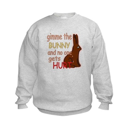 Funny Easter Kids Sweatshirt