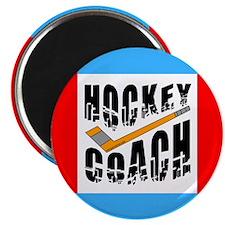 "Hockey Coach 2.25"" Magnet (10 pack)"