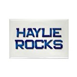 haylie rocks Rectangle Magnet (10 pack)
