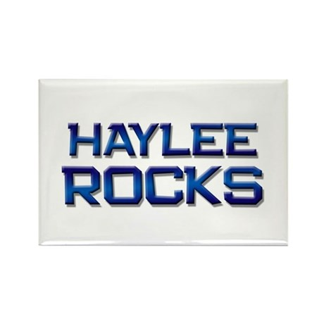 haylee rocks Rectangle Magnet (10 pack)