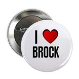 "I LOVE BROCK 2.25"" Button (10 pack)"